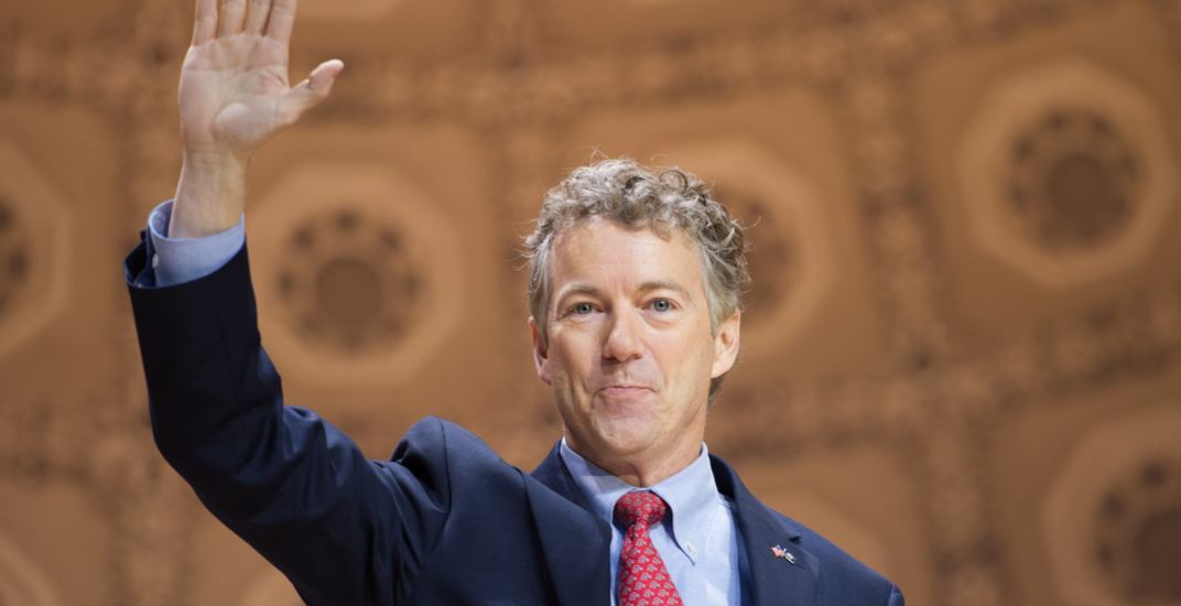 Outspoken US Senator Rand Paul is coming to Canada for surgery