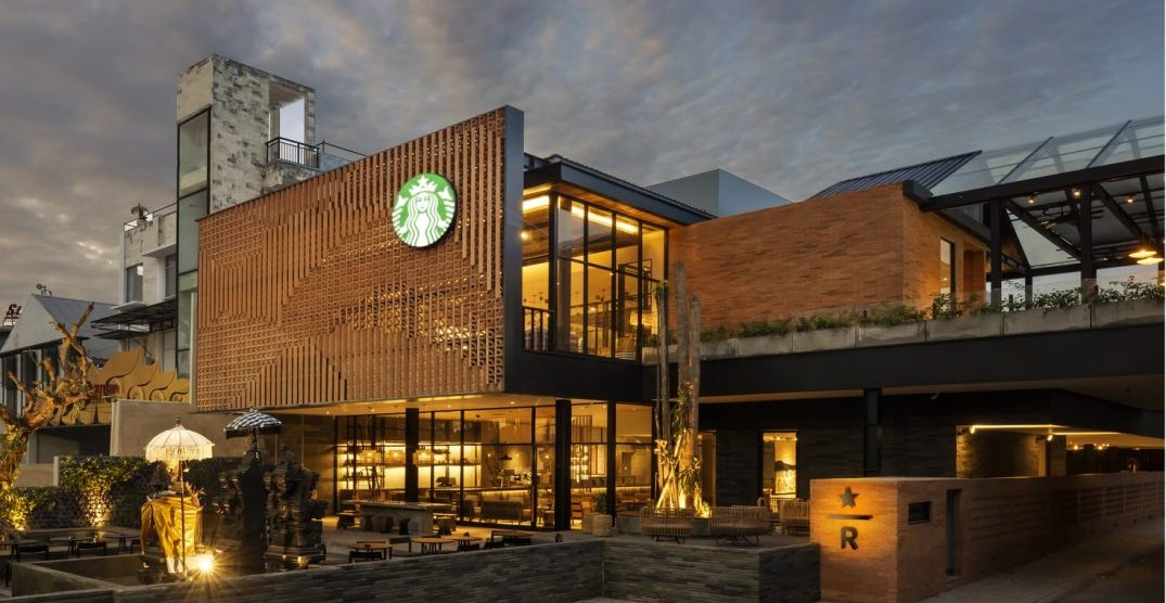 Starbucks opens 20,000-sq-ft coffee sanctuary in Bali