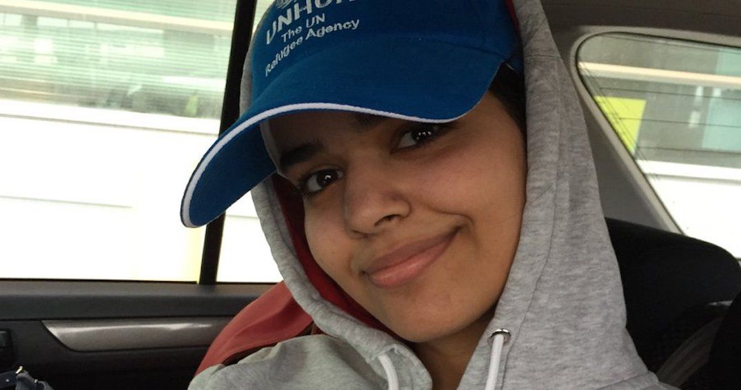 Saudi teen granted asylum says she's 'one of the lucky ones' after landing in Canada