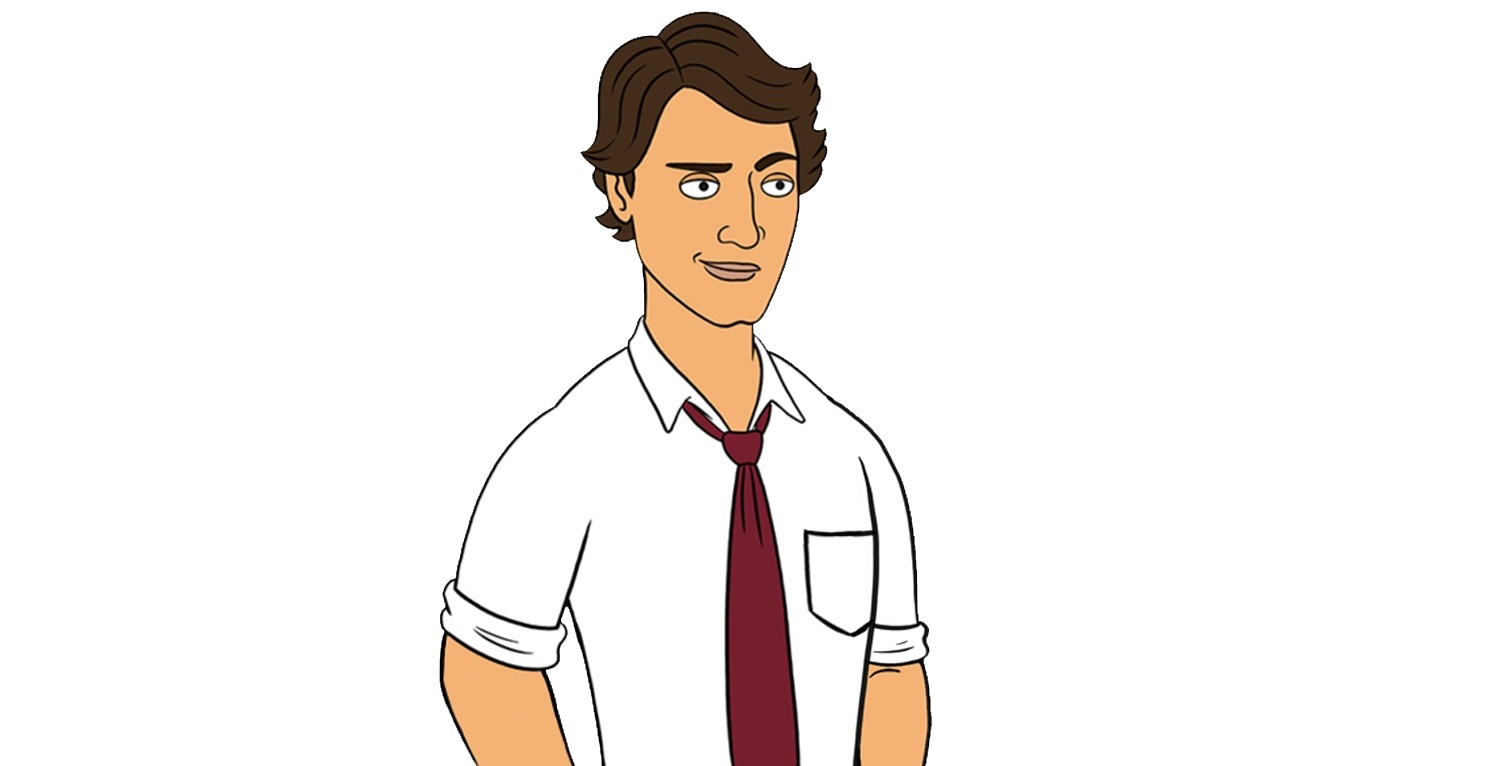 Justin trudeau animated corner gas