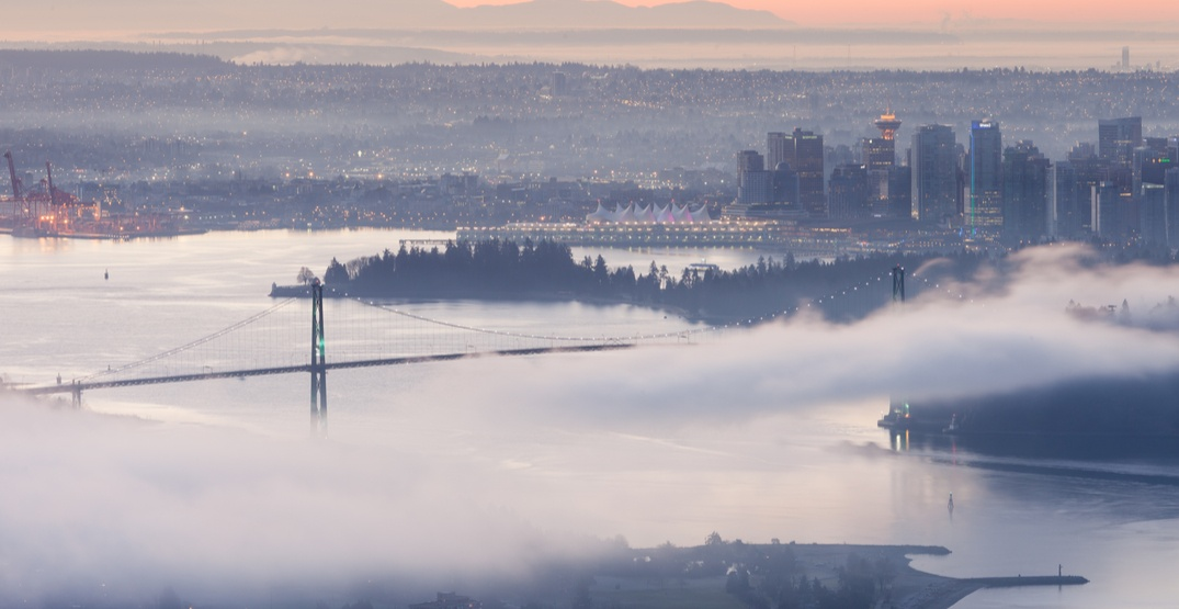 Fog advisory warns of near zero visibility over Metro Vancouver