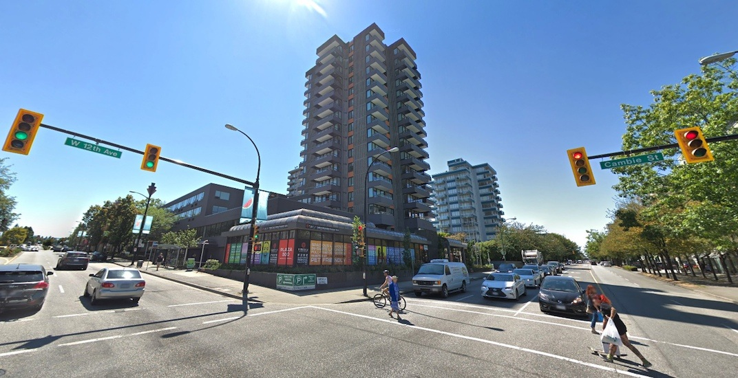 Cambie Street's Plaza 500 tower listed for sale for its redevelopment potential