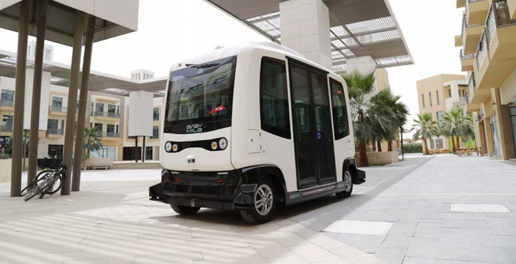 EZ10 Driverless Shuttle Autonomous