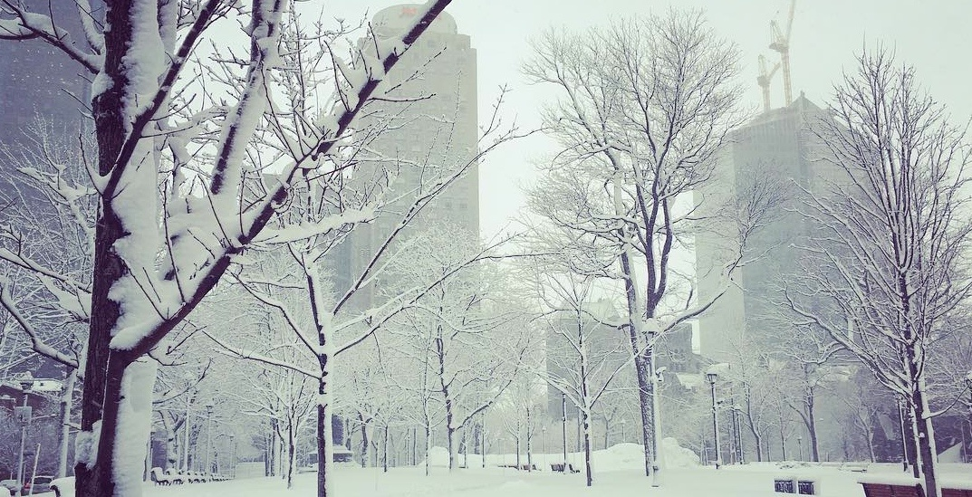 Environment Canada issues a snow squall watch for Montreal