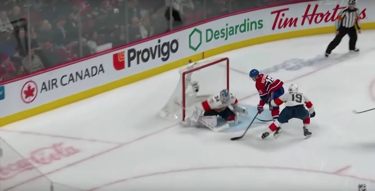Kotkaniemi scores ridiculous toe drag goal in Canadiens win (VIDEO)
