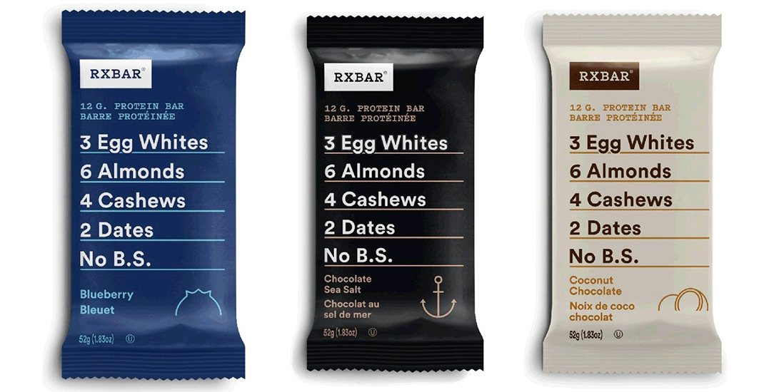 Canada-wide recall issued over RXBAR Protein Bars