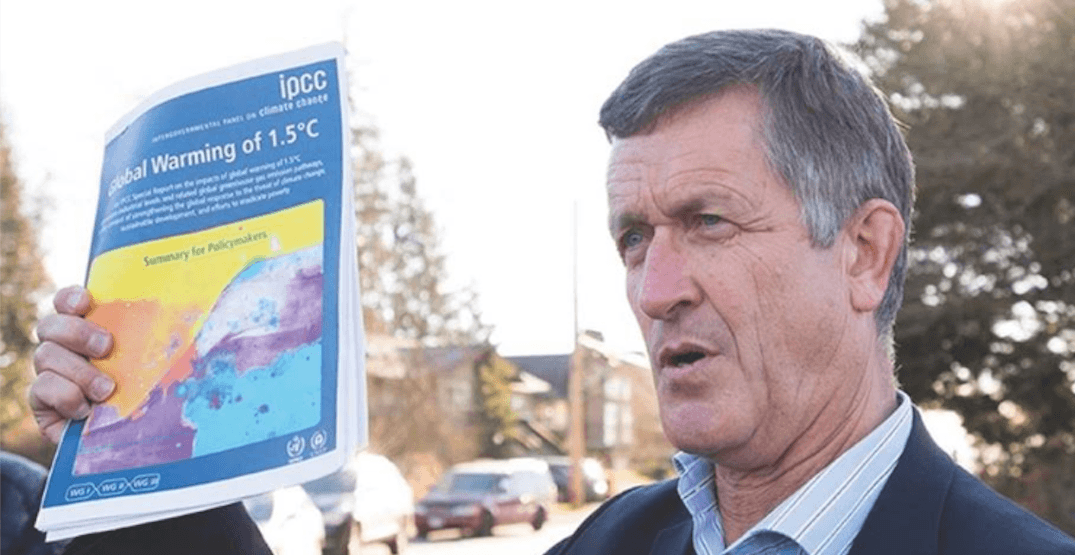 Former MP Svend Robinson running for federal office again after 15 year hiatus