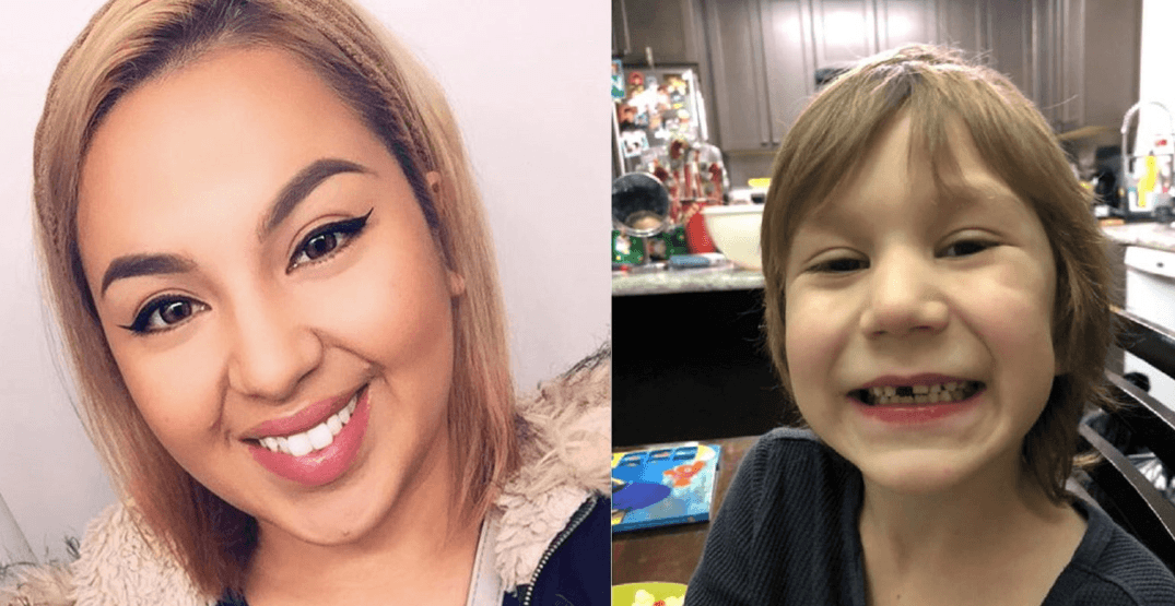 RCMP looking for BC woman missing with 6-year-old nephew