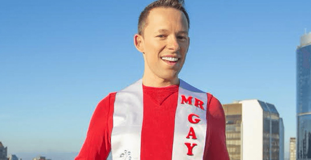 Longtime Vancouver volunteer named Mr. Gay Canada