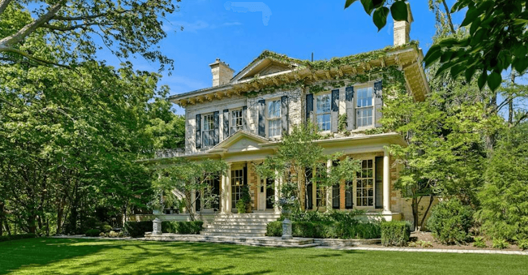 You can buy a historical home in Toronto for $22 million (PHOTOS)