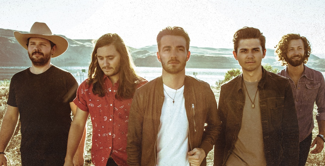 Country music band LANCO is performing live in Calgary this week
