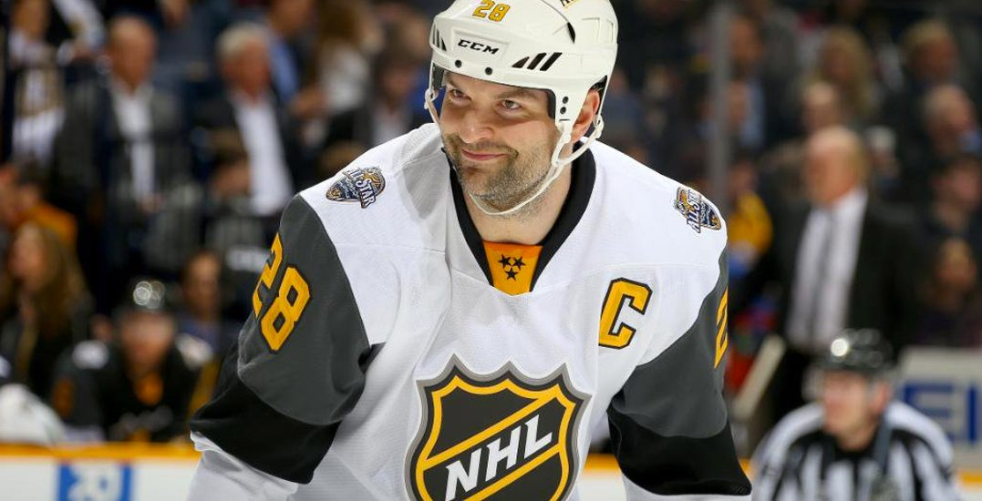 Former NHL All-Star John Scott escapes near-death experience on frozen lake