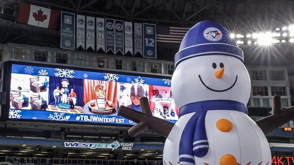 Blue Jays Winter Fest takes over Rogers Centre this weekend