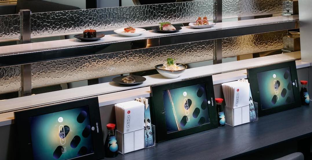A conveyor belt aburi sushi spot is opening at Yorkdale Mall this weekend