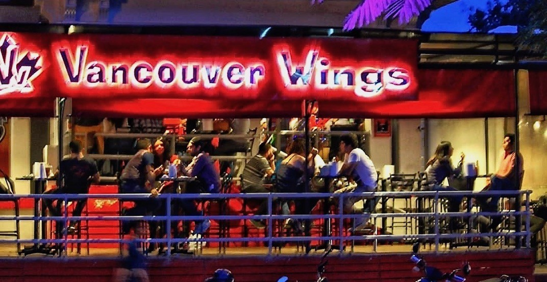 Canadian pub lookalike 'Vancouver Wings' has 100+ locations in Mexico