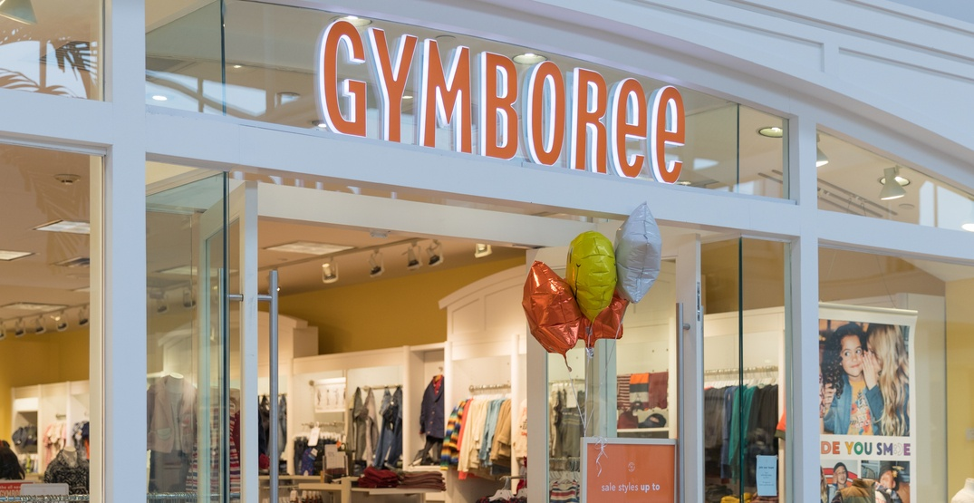 All 49 Canadian Gymboree stores closing after retailer files for bankruptcy