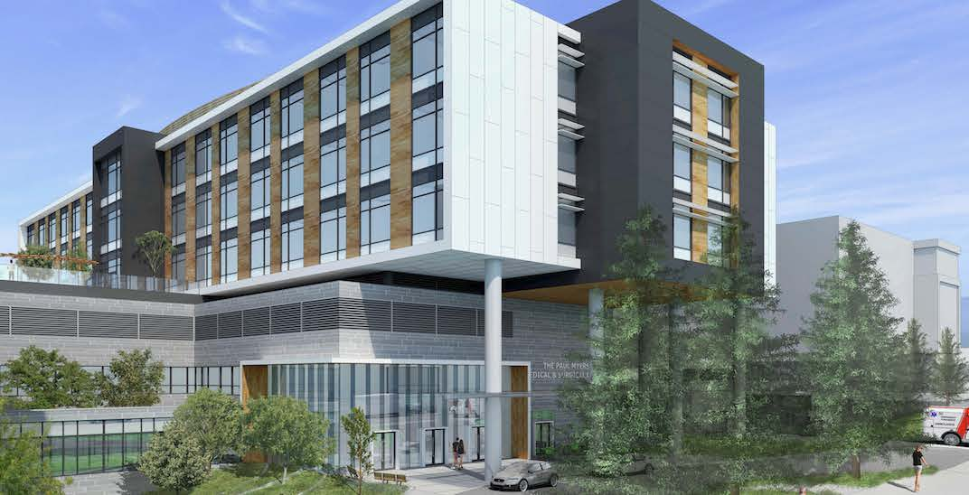 $100 million fundraised in just 23 months for Lions Gate Hospital expansion
