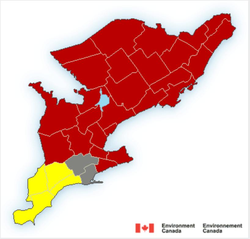 Ontario weather