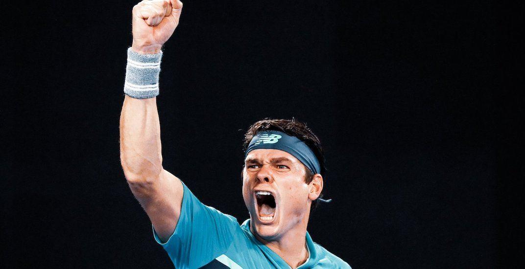 Milos Raonic upsets No. 4 seed Alexander Zverev at Australian Open