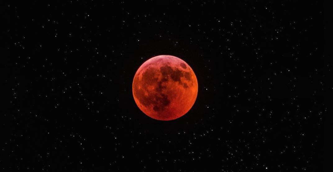 Incredible photos of the Super Blood Wolf Moon Total Lunar Eclipse over Toronto