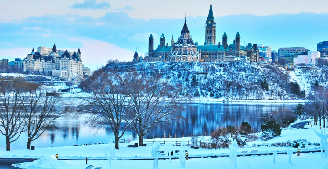 Ottawa was the coldest national capital in the world over the weekend