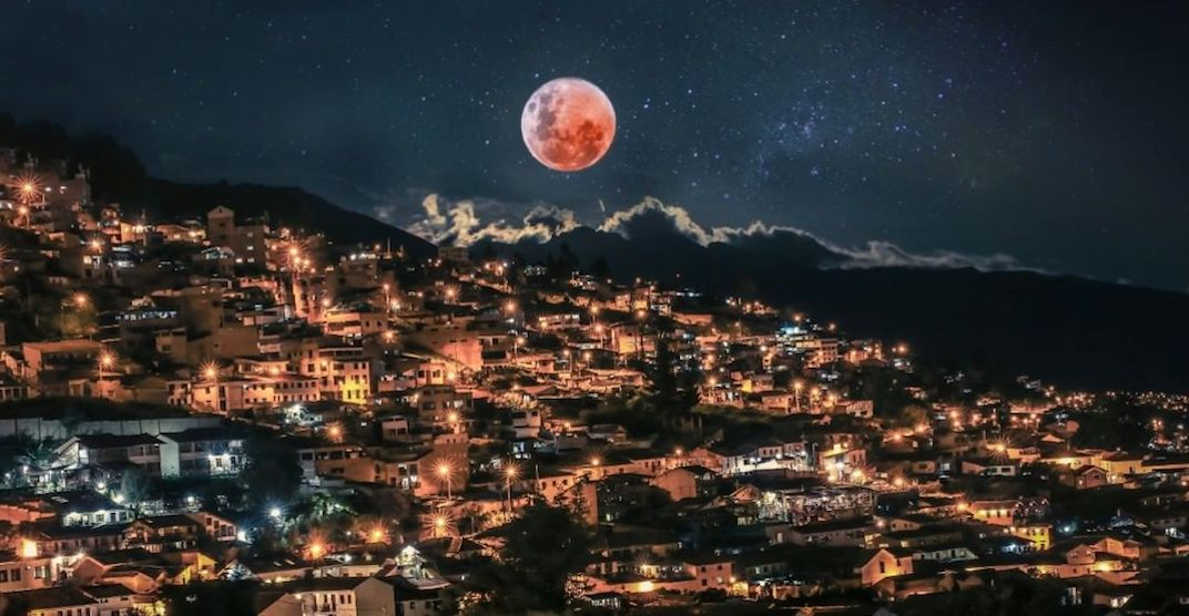 The Super Blood Wolf Moon Total Lunar Eclipse as seen around the world (PHOTOS)
