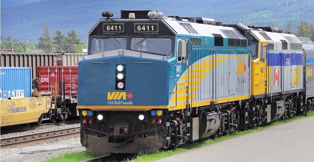 Pair arrested after alleged sex acts in front of passengers on Via Rail train