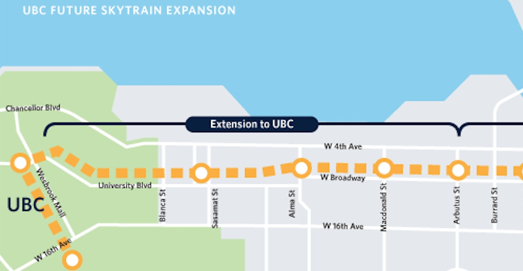Vancouver City Council approves UBC SkyTrain extension