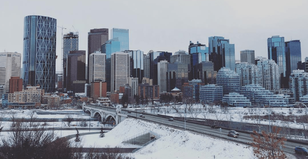 There's snow and rain in the forecast for Calgary this weekend