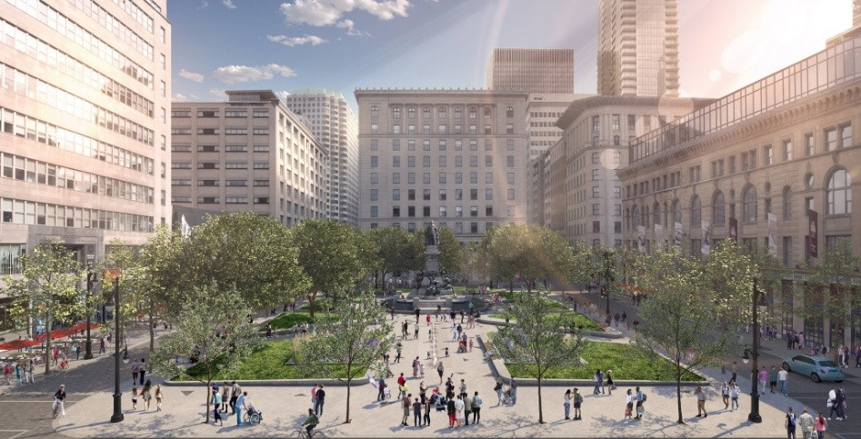 Montreal announces new plans to renovate downtown's Phillips Square (RENDERINGS)