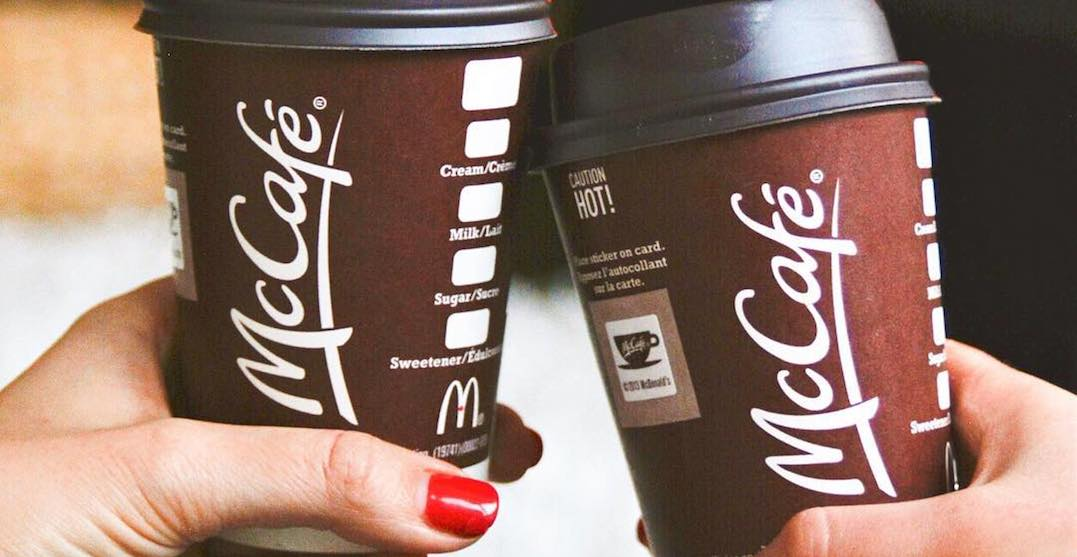 You can get McDonald's coffee for $1 right now until March 3