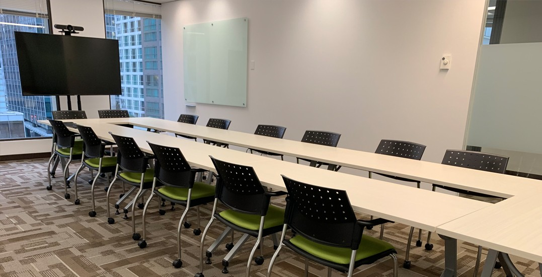 Vancouver office space meeting rooms Mccarthy Tetrault Iats Paiments Available Resources Include Flek Space For Meeting Rooms Dynamic Leap The New Office Space In Vancouver Is 100 Free For Nonprofit