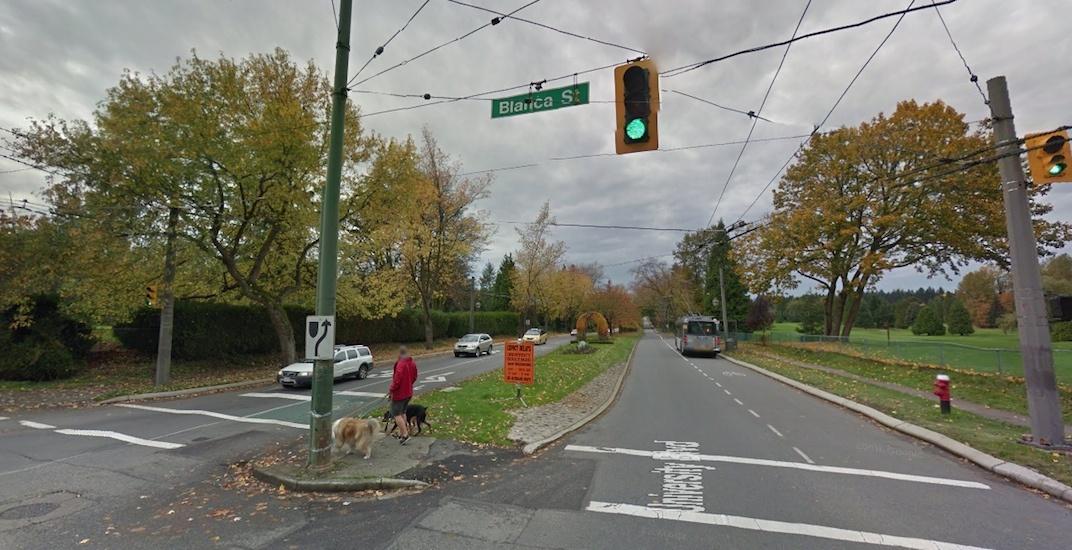 University Boulevard Blanca Street UBC