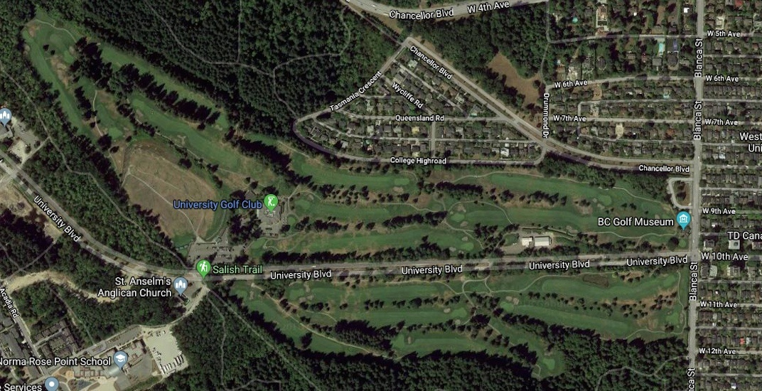University Golf Course UBC