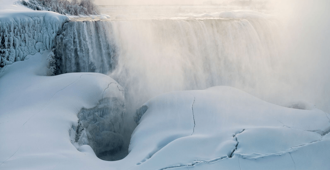 Niagara Falls' famous 'ice bridge' should be forming soon (PHOTOS)