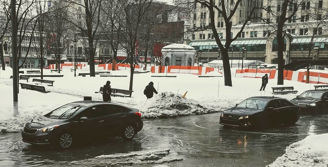 The Internet had a field day at Montreal's slushy expense (VIDEOS)