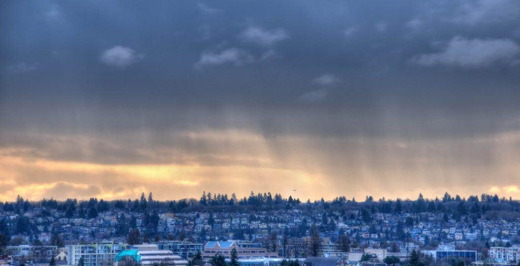 Vancouver storm rainfall