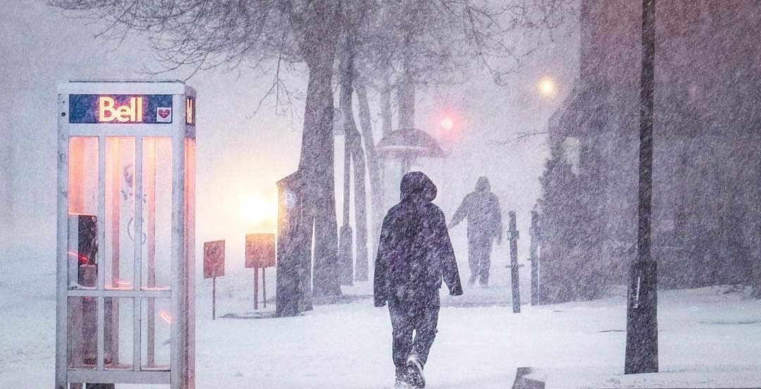 Montreal could be hit with up to 20 cm of snow starting today