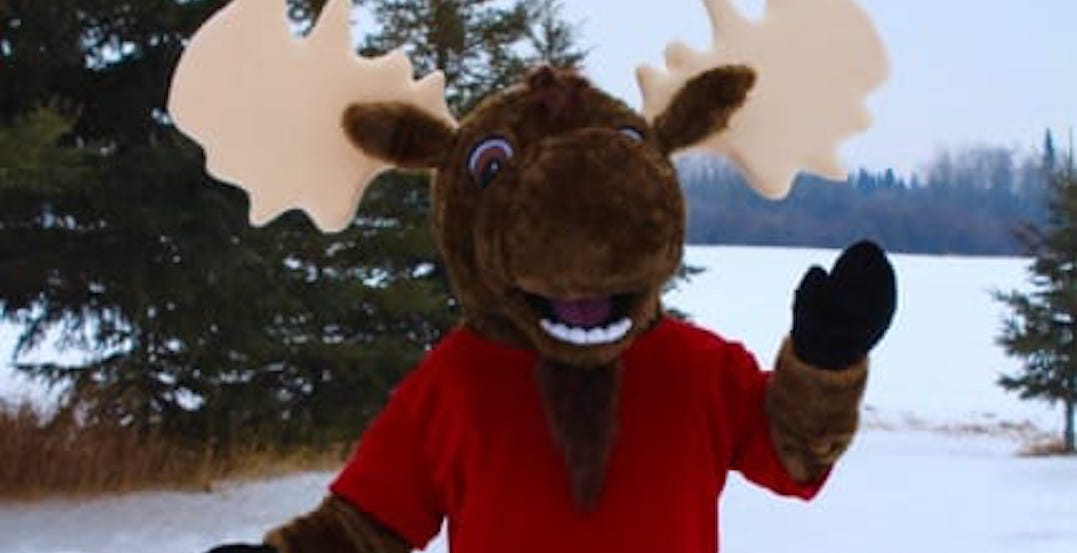 This town's Crime Stoppers just revealed the most Canadian mascot ever