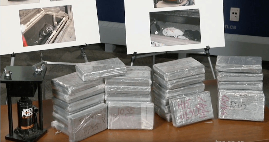 68 kg of cocaine and over $340k seized in major Toronto drug