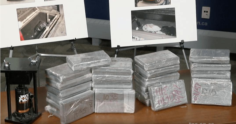 68 kg of cocaine and over $340k seized in major Toronto drug bust