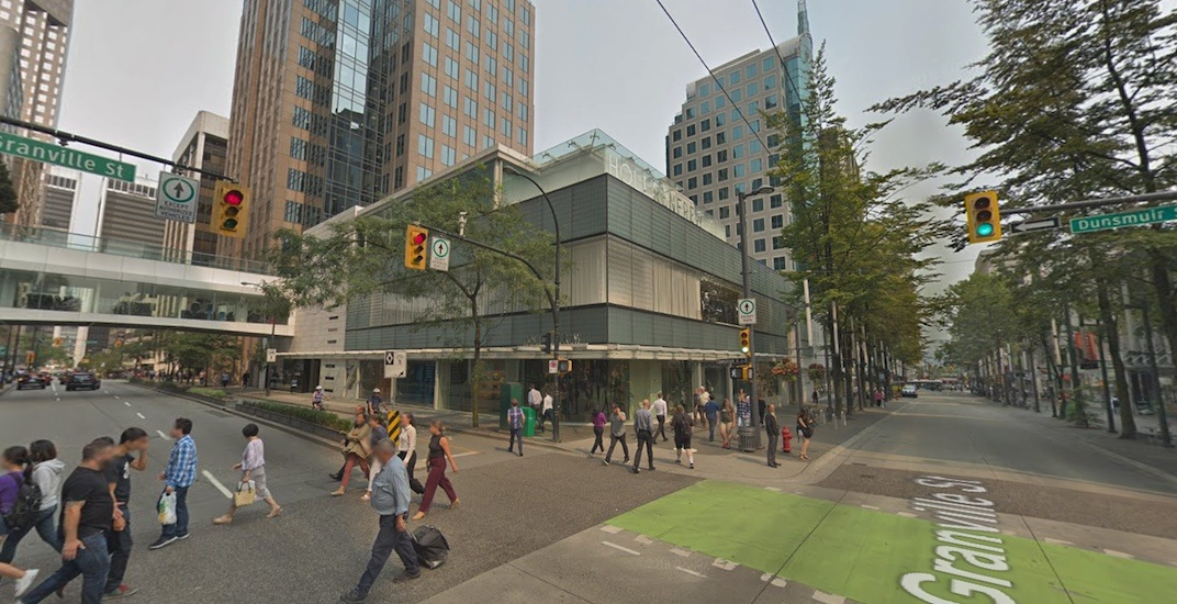 Holt Renfrew Vancouver flagship store planning new rooftop event space