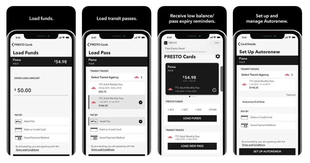 The PRESTO app is finally available for iPhone and Andriod