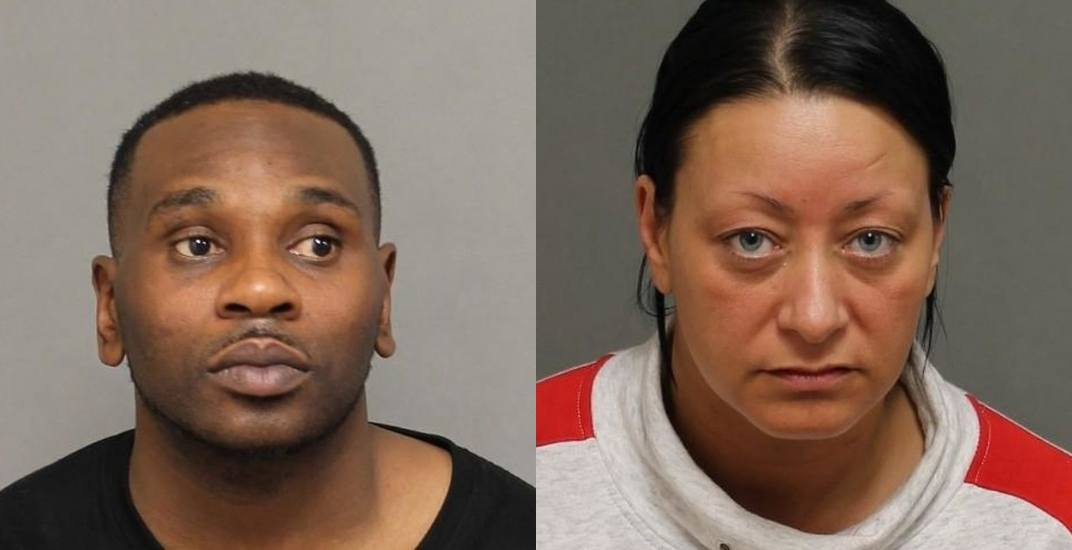 Man and woman arrested following human trafficking investigation
