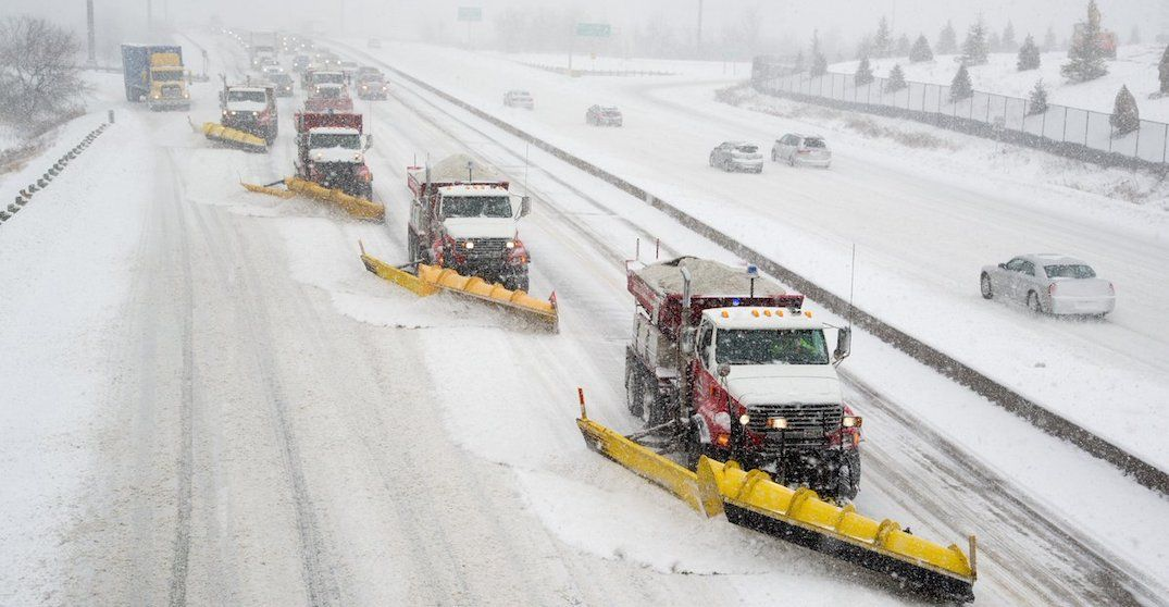 You can track the City of Toronto's snow removal operations in real time (MAP)