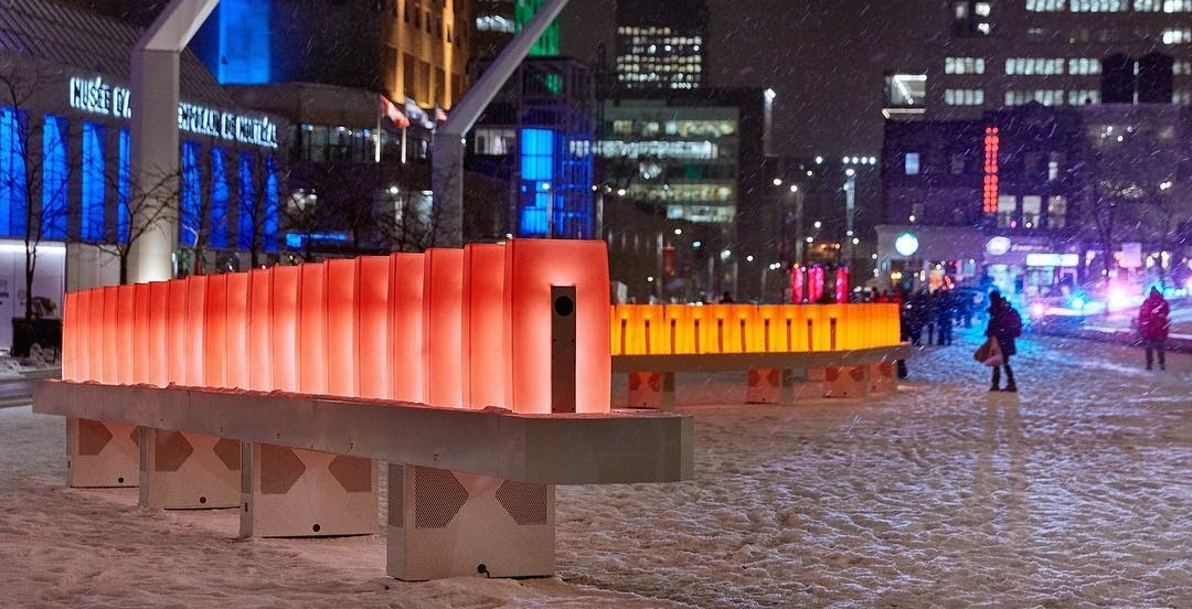 13 pics from the final weekend of Montreal's musical domino display (PHOTOS)