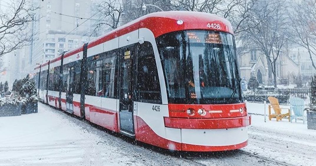 All the TTC service disruptions and detours due to weather this morning
