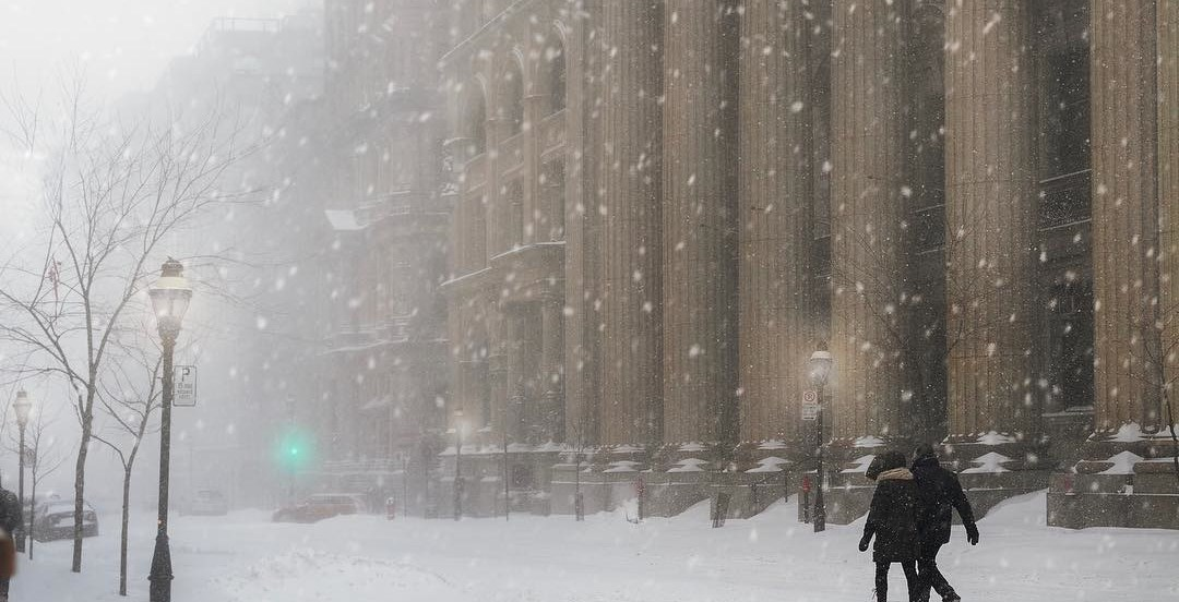 A special weather statement has been issued for Montreal