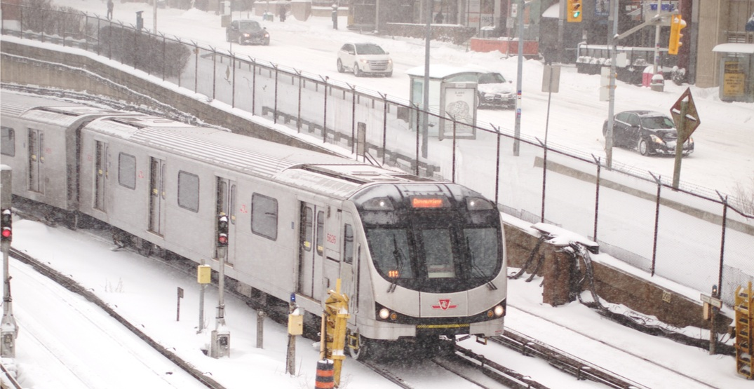 Monday's major snowfall continues to cause delays on TTC and at Pearson