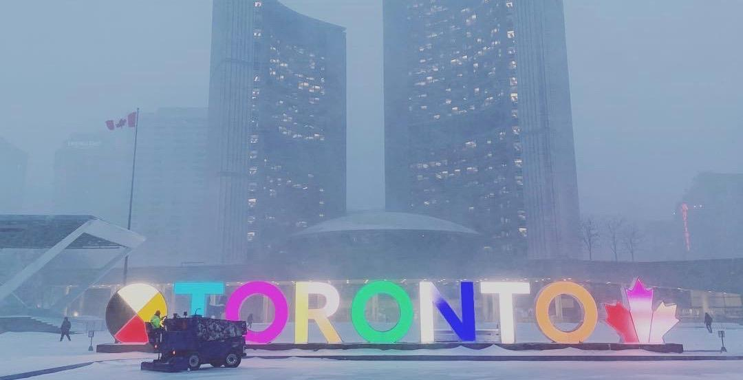 Toronto just smashed its previous snowfall record for February 27